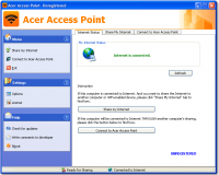 Acer Access Point screenshot