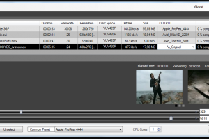 Cinec screenshot