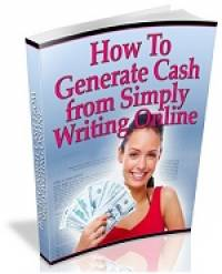 How to Generate Cash from Simply Writing Online! screenshot