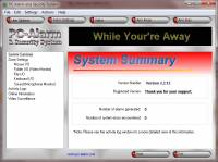 PC-Alarm and Security System screenshot