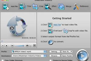 iDealshare VideoGo for Mac screenshot