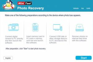 Minitool Photo Recovery screenshot