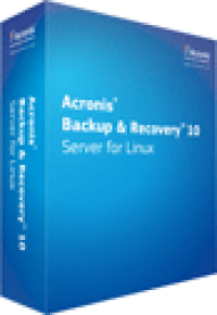 Acronis Backup and Recovery 10 Server for Linux screenshot