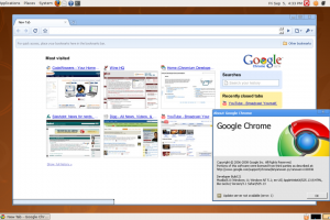Google Chrome for Linux (x32bit) screenshot