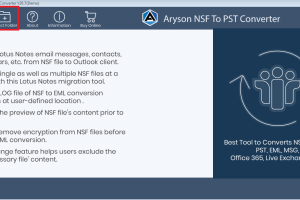 Export Lotus Notes to Outlook Tool screenshot