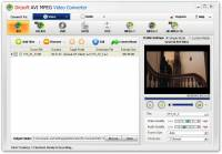 Dicsoft AVI MPEG Converter screenshot