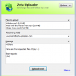 Zeta Uploader - Send large Files online