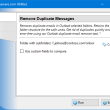 Remove Duplicate Messages for Outlook