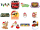 Free Christmas Emoticons