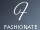 Fashionate - Minimal Business, Portfolio, Photography WordPress Theme