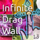 Infinite Drag Wall