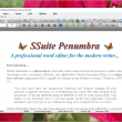 SSuite Penumbra Editor 14.6.2.2 full screenshot