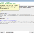 Convert Outlook MSG to PST