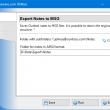 Export Notes to MSG Format