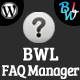 BWL Simple FAQ Manager Plugin