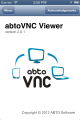 abtoVNC iOS Viewer SDK