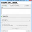 MSG Files to PDF Conversion 6.5 full screenshot
