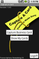 Capture A Card-Android